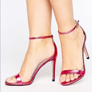 Steve Madden Stecy Hot Pink Heels